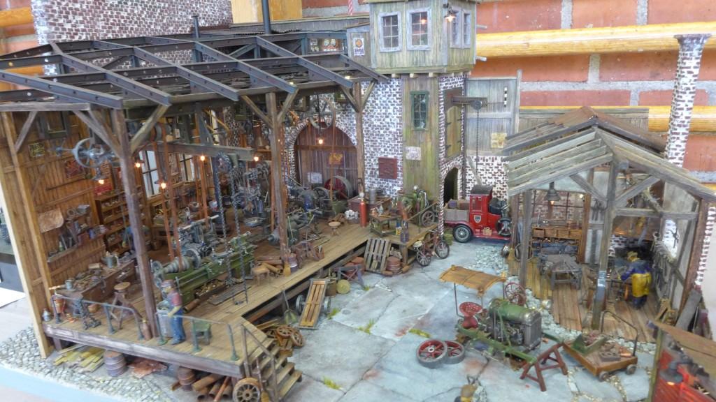 Publikens pris gick till detta underbart detaljerade diorama.